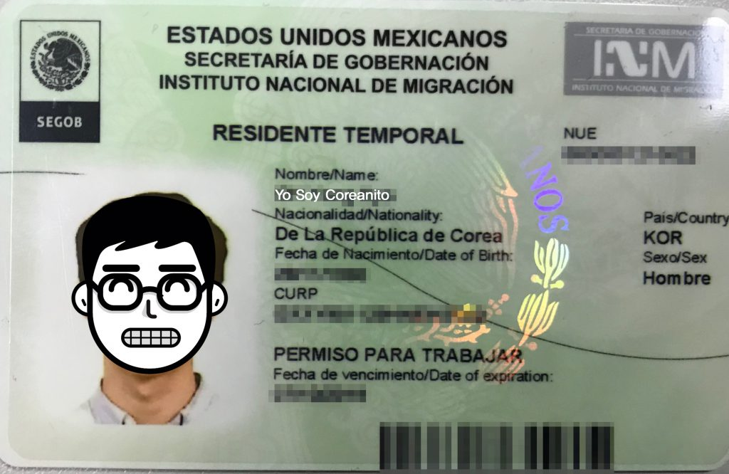 residente temporal mexicano
